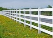 Kwikfynd Pvc fencing airevalley